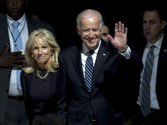 Pope Francis, Joe Biden, Jill Biden