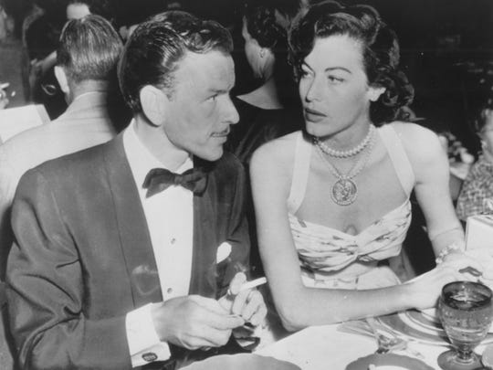Ava Gardner was Frank Sinatra's second wife and while the two were married, they got in a fight that left a sink chipped in Sinatra's Palm Springs home called the Twin Palms Frank Sinatra Estate. You can rent the home for $2,600 a night.