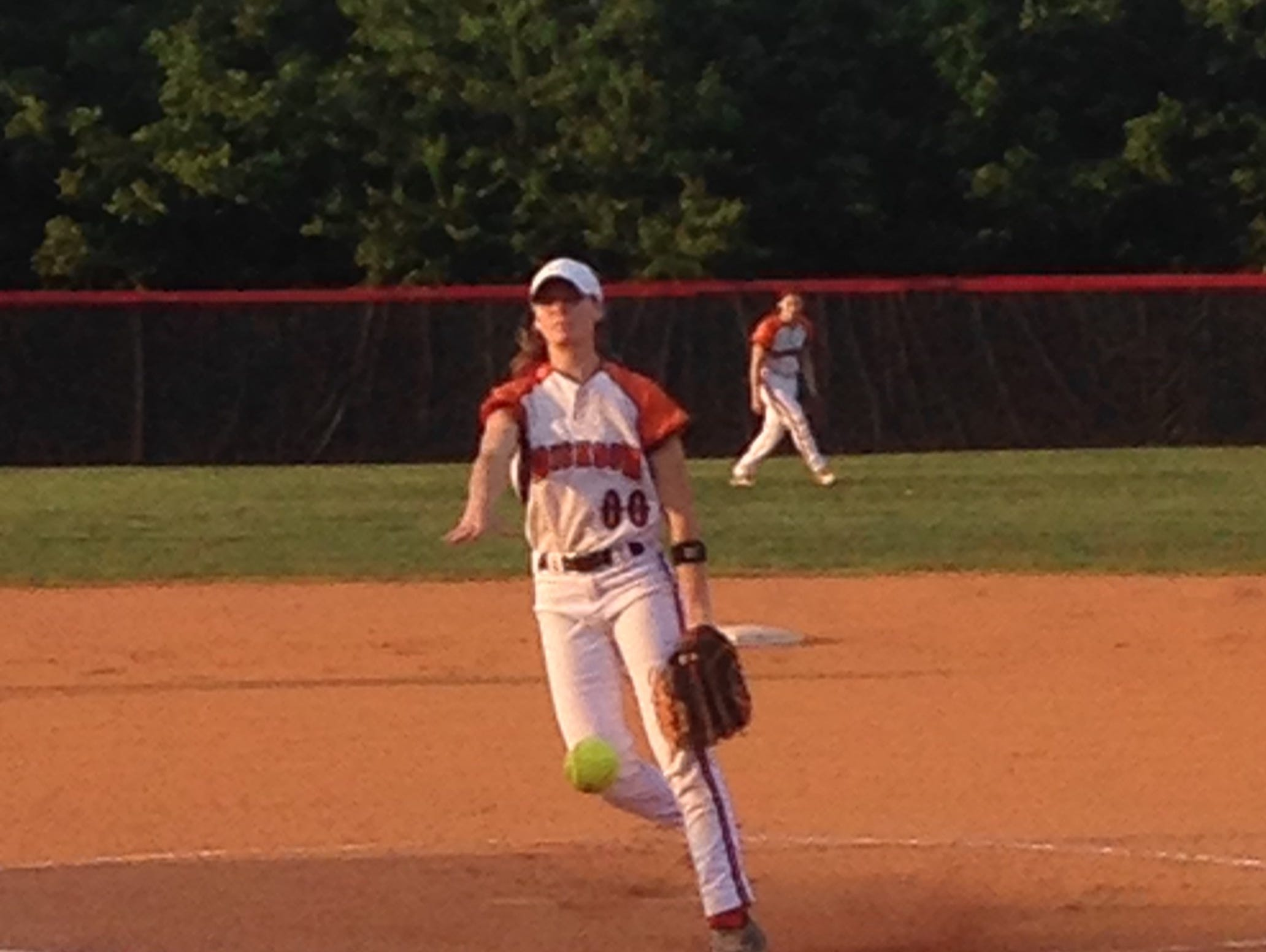 Dickson County's Brooklin Lee struck out 13 in Tuesday's win.