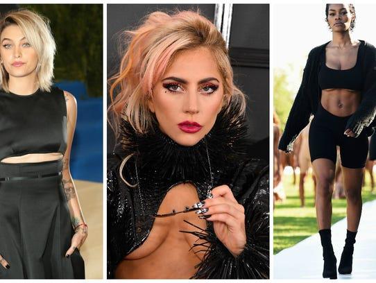Paris Jackson at the Met Gala on May 1, Madonna at