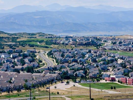 5. Douglas County, Colorado5-yr. population change: