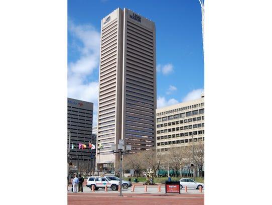 Maryland: Transamerica TowerCity: BaltimoreHeight: