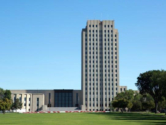 North Dakota: North Dakota State CapitolCity: Bismarck