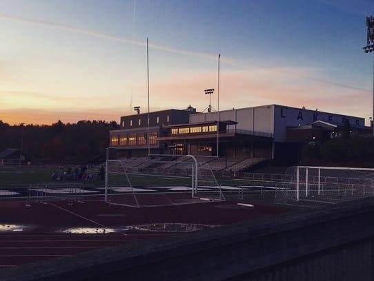 Oregon High school: Lake Oswego Senior High School