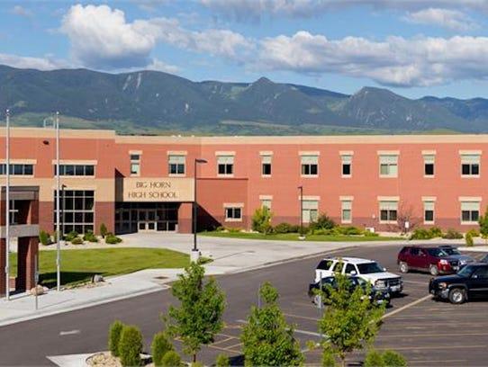 Wyoming High school: Big Horn High School Location: