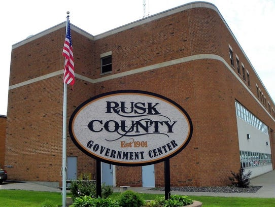 Rusk County, Wisconsin> County median household income: