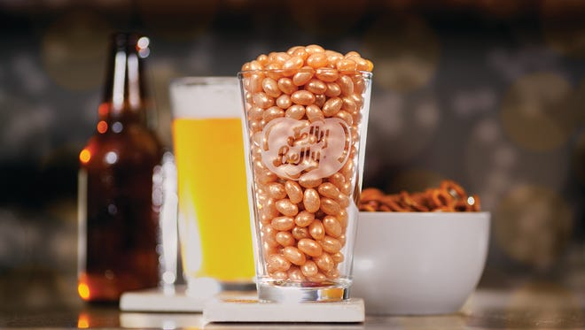 Jelly Belly's draft beer flavored jelly bean.