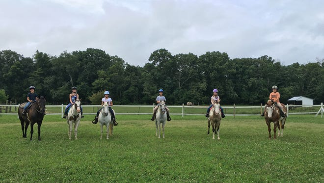 Circle D Horse Farm campers are ready to ride.