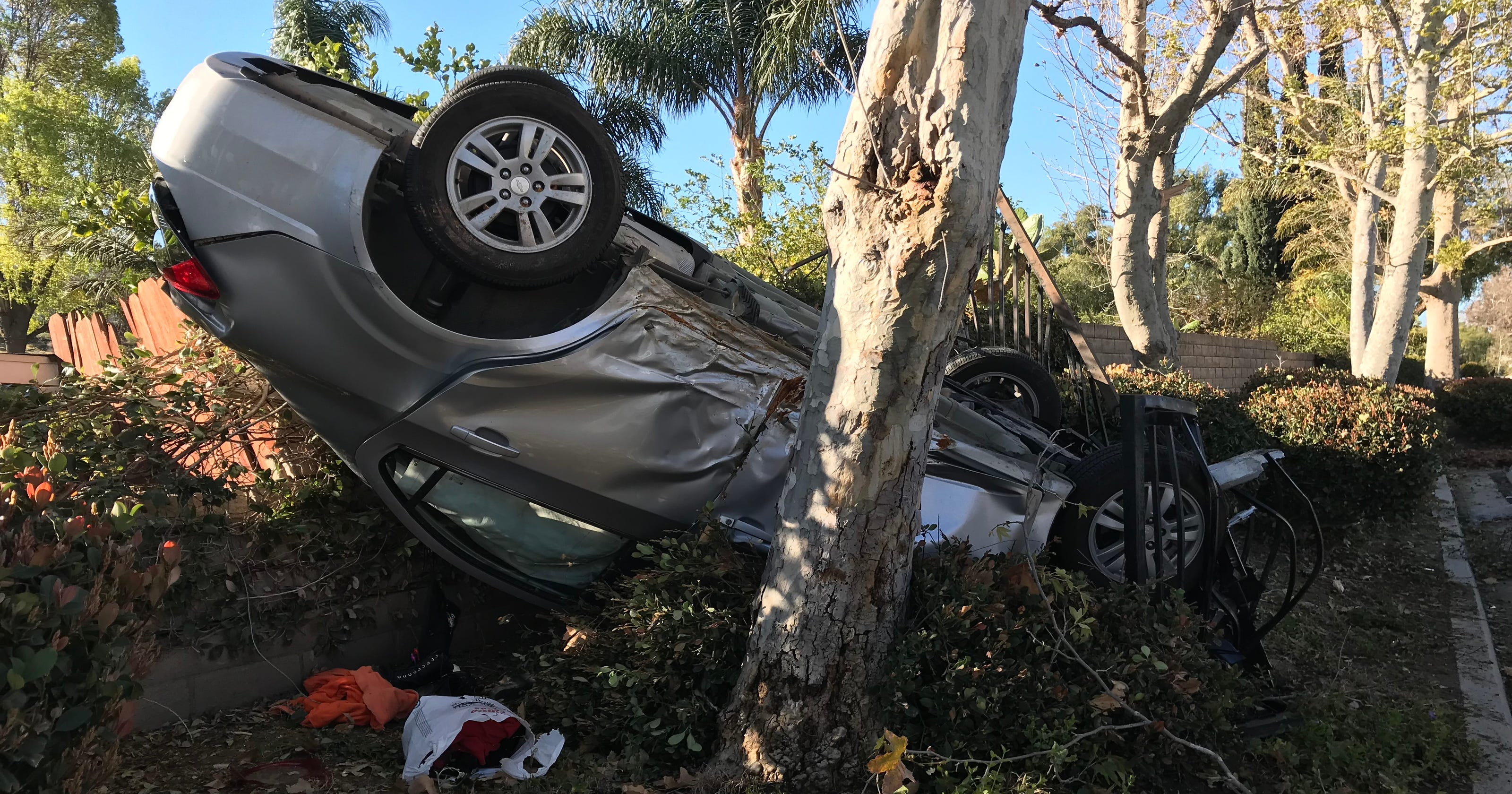 Simi Valley Chevrolet >> Suspected Drunk Driver Somersaults Car Out Of Simi Valley