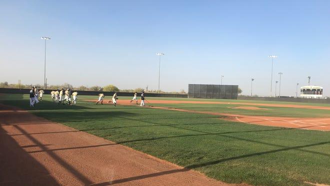 Verrado takes on Deer Valley in baseball on Thursday.