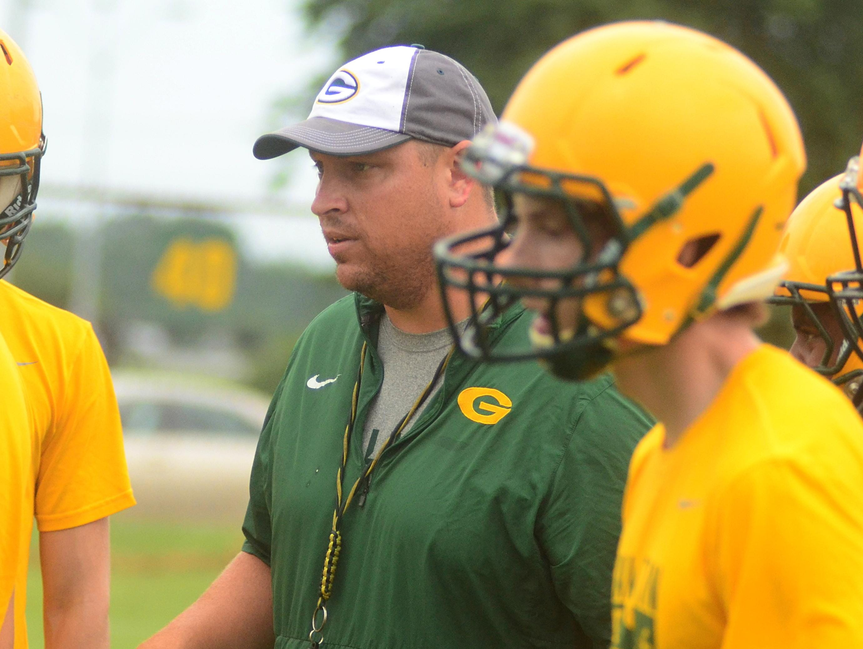 Gallatin High head coach Mark Williams begins his fifth season with the Green Wave in 2016.