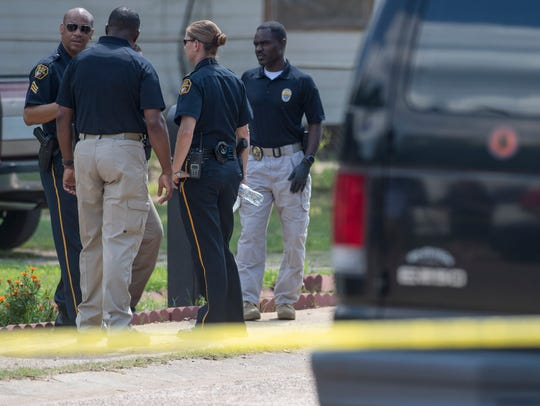 Montgomery Police investigate a fatal shooting on Garden