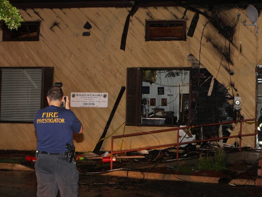 Knights of Columbus Congers Fire