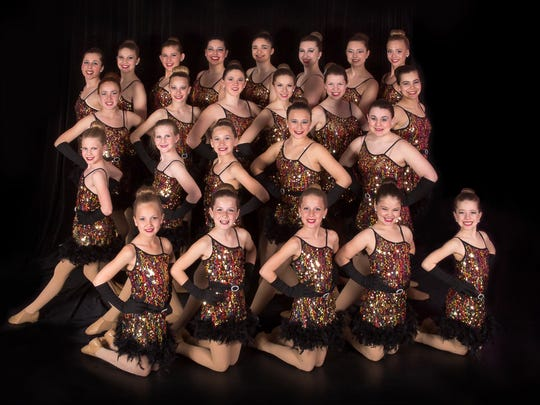 The young performers of Studio 3 Dance visit the Edmunds School gym for First Night Burlington.