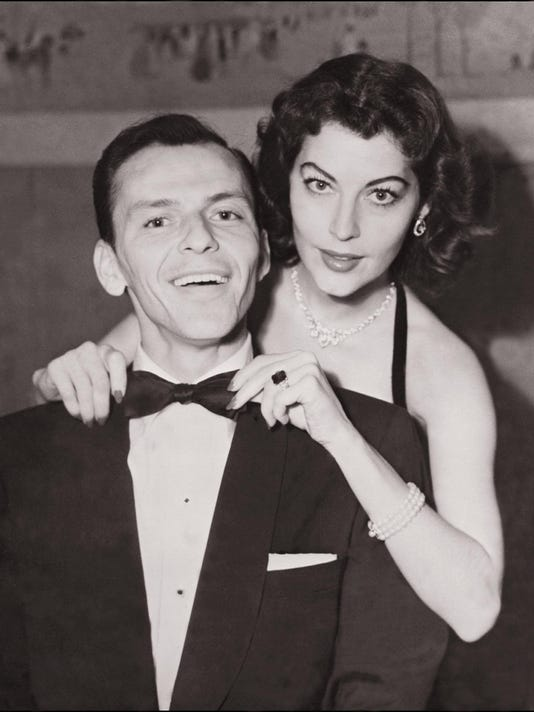 Legendary US singer Frank Sinatra in an undated an