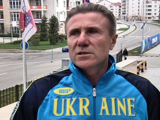 Sochi Olympics Bubka Ukraine