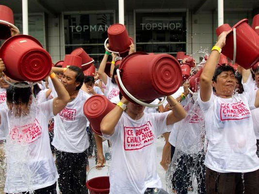 Ice Bucket Outpouring