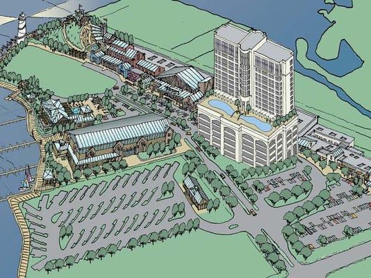 Biloxi Boardwalk Casino Resort drawing.jpg