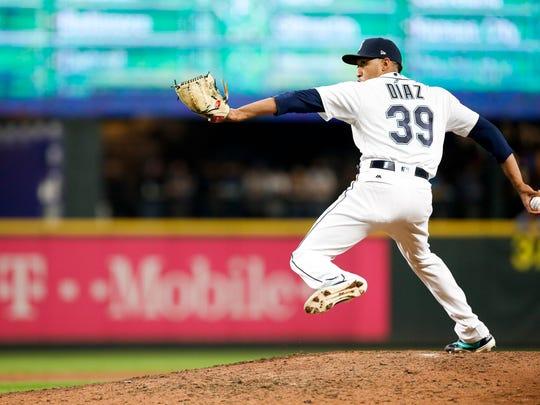 USP MLB: TEXAS RANGERS AT SEATTLE MARINERS S BBA SEA TEX USA WA