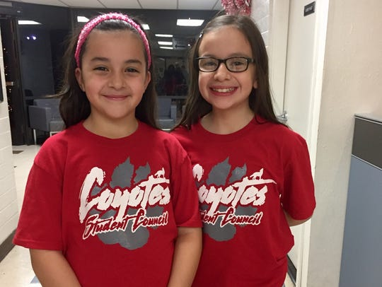 Andrea (left) Gomez and Celina Gomez (right) are sisters