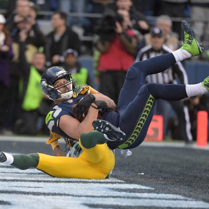 Jermaine Kearse has caught one touchdown in four consecutive