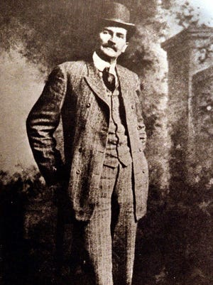 Pat Garrett (1850-1908) is shown in this undated file photo provided by the Museum of New Mexico.