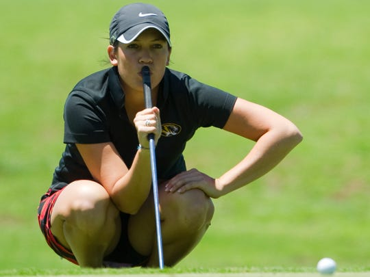 Julia Potter at Heartland Crossing Golf Course in 2011.