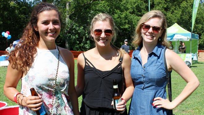 Steph Paronish, Lauren Kienzl and Kelly Hartnett.