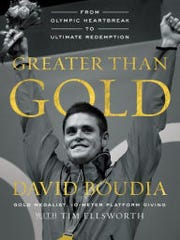 David Boudia's book was released on Tuesday.