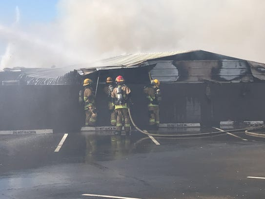 A house fire burns down residence in Phoenix.