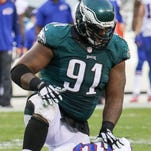 Eagles defensive lineman Fletcher Cox has yet to show up for offseason workouts as he is hoping for a new contract.
