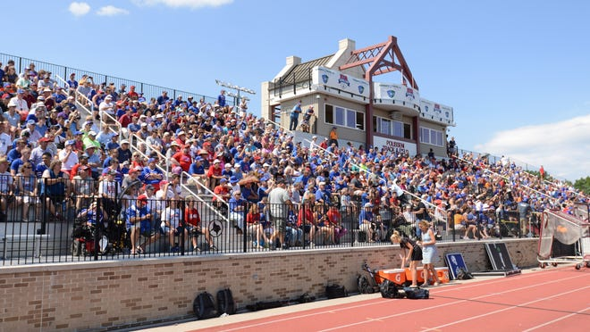 The stands at St. John Fisher College will be empty in August as the Buffalo Bills shift training camp to Orchard Park after the NFL announced teams must stay home for pre-season activities.
