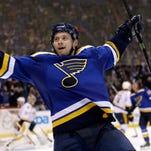 Vladimir Tarasenko and the St. Louis Blues finally found some reason to celebrate on Tuesday.