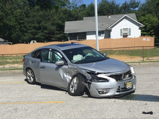 Vineland Police Investigate Four Car Crash