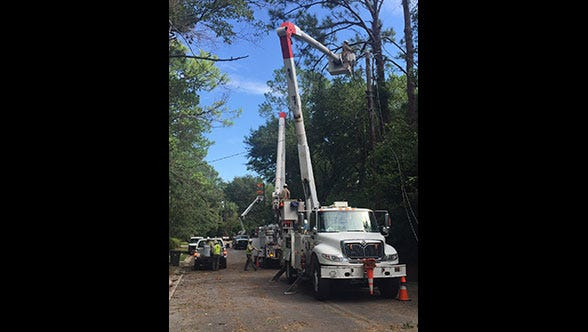 Mississippi Power helped restore service to more than 200,000 customers in Georgia after Tropical Stomr Hermine.