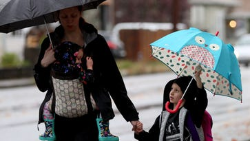 Rain predicted over the weekend in Salem, snow in the Cascades