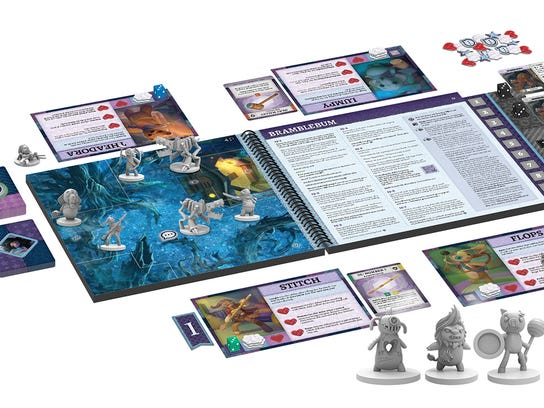 Stuffed Fables delivers an exciting narrative adventure driven by player choices. Players explore a world of wonder and danger, unlocking unique discoveries as they interact with the story. Stuffed Fables is ideal for families, as well as groups of adults who haven't forgotten their childlike sense of wonder.