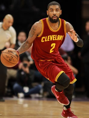 East - Cleveland Cavaliers guard Kyrie Irving.