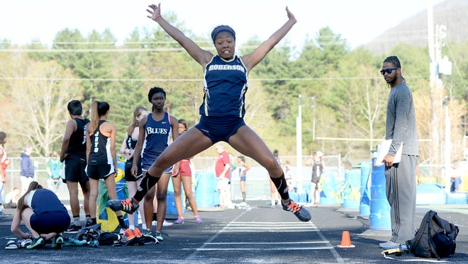 Roberson senior Elyse King has committed to the Charlotte track and field program.