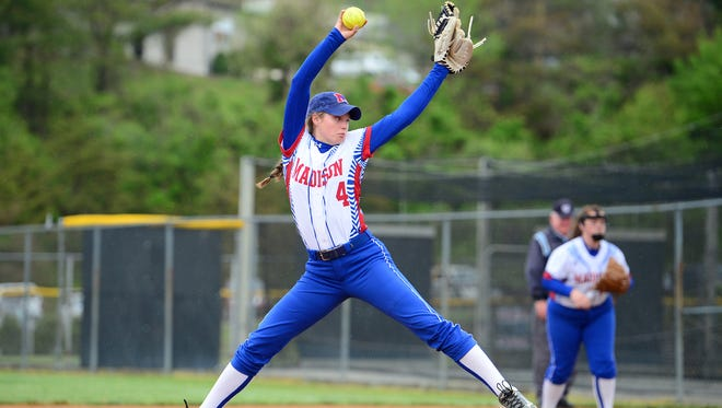Madison rising senior Hannah Jennings is the Citizen-Times All-WNC Softball Player of the Year.