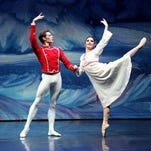 A scene from the Moscow Ballet production of the Great Russian Nutcracker.