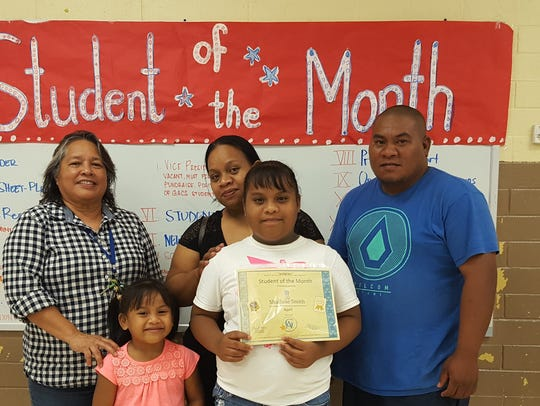 The Guahan Academy Charter School honored its April
