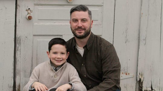 Dan Soderberg and his son, Greyson