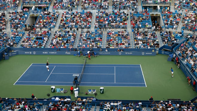 Lindner Family Tennis Center during the Western & Southern Open in August.