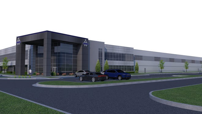 Martinrea Metal Industries, a manufacturer of steel and aluminum automotive parts, on Monday, Oct. 17, 2016, announced plans to establish a new technical center in Auburn Hills and create 60 jobs with support from the Michigan Strategic Fund. Pictured is a rendering of the center.