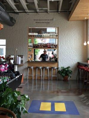 An interior view of Lulu Nashville restaurant.