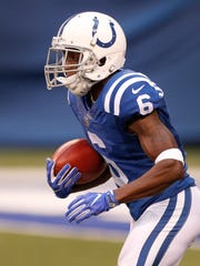 Indianapolis Colts wide receiver JoJo Natson (6) returns a kickoff in the first half of their preseason football game Thursday, August 31, 2017.