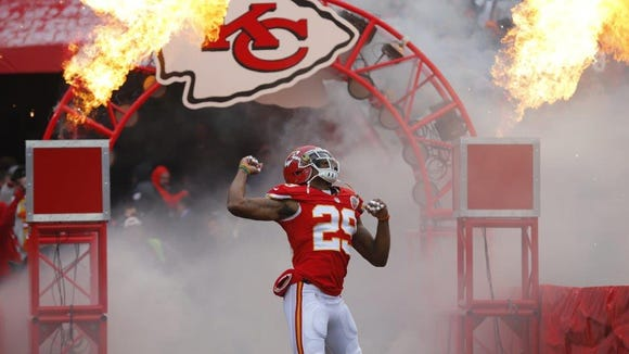 Kansas City Chiefs strong safety Eric Berry is one