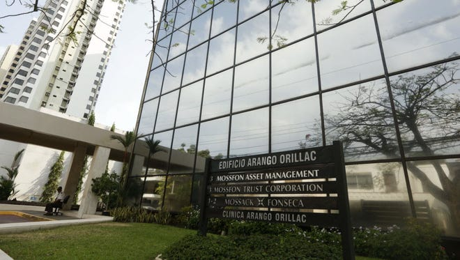 """The offices of Panama law firm Mossack Fonseca in Panama City on April 3, 2016. Hundreds of companies registered in Nevada list """"officers"""" that are actually companies sharing the same address as this building."""