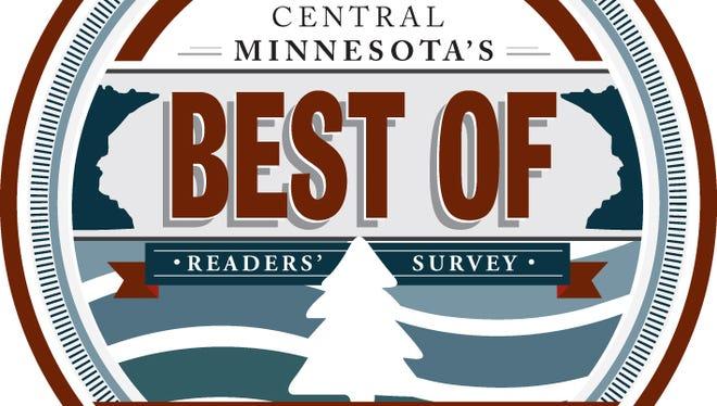 The 2017 Best of Central Minnesota logo.